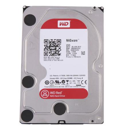 """Western Digital WD20EFRX 2TB Red  NAS 3.5"""" HDD"""