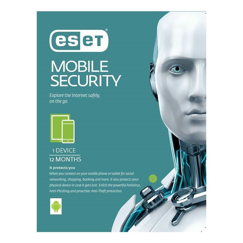 ESET Mobile Security 1 Device 1 Yr - Email Key