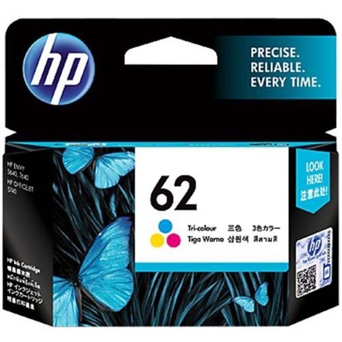 HP 62 TRI-COLOR INK CART C2P06AA