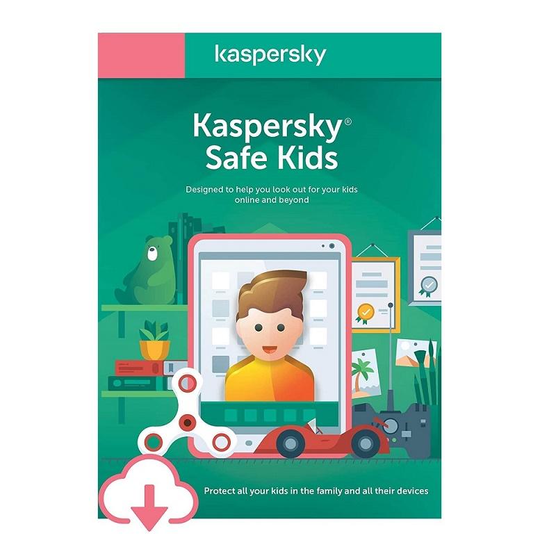 KL1962ECAFS Kaspersky Safe Kids 1 User 1 year Email