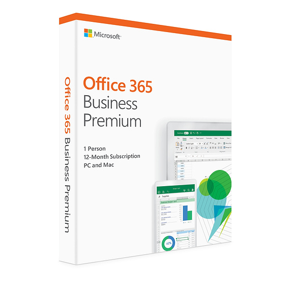 Microsoft Office 365 Business Premium 1 year Sub Email Key