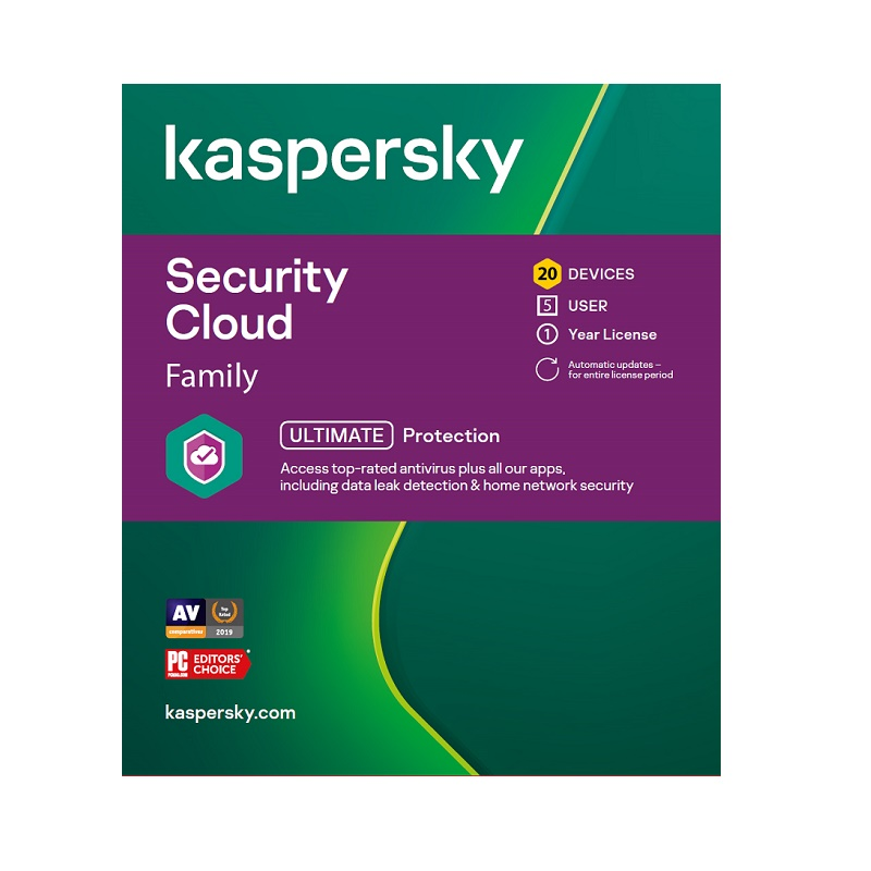 KL1925ECNFS Kaspersky Security Cloud Family 20 device 1Y