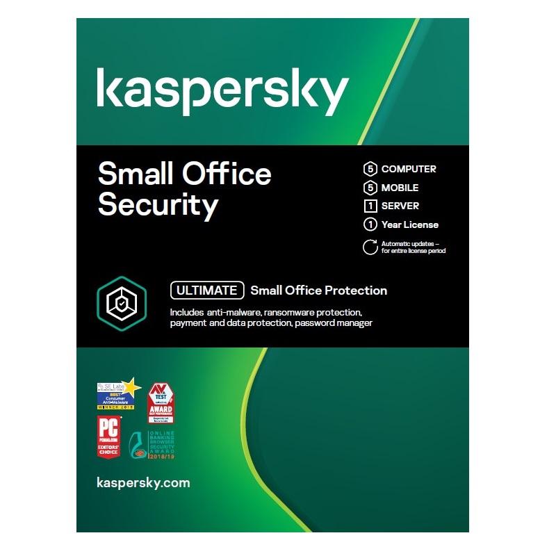 Kaspersky Small Office Security 5 Users 1 year KL4541EOEFS