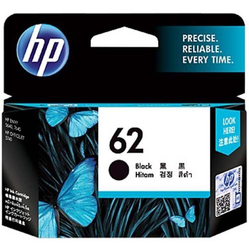 HP 62 BLACK INK CART C2P04AA