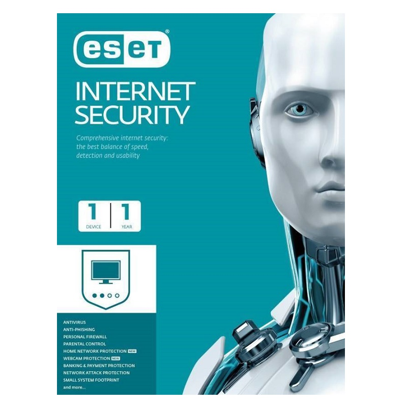ESET Internet Security 1 Device 1 Year Email Key