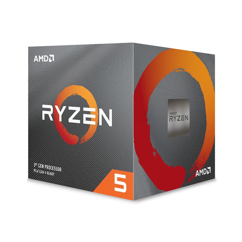 AMD Ryzen 5 3600X CPU Wraith spire cooler