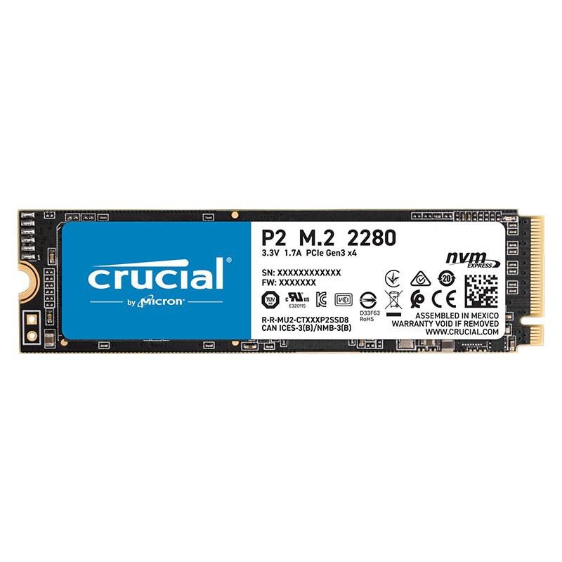 Crucial CT1000P2SSD8 1TB * P2* M.2 NVME SSD 2300R/1800W