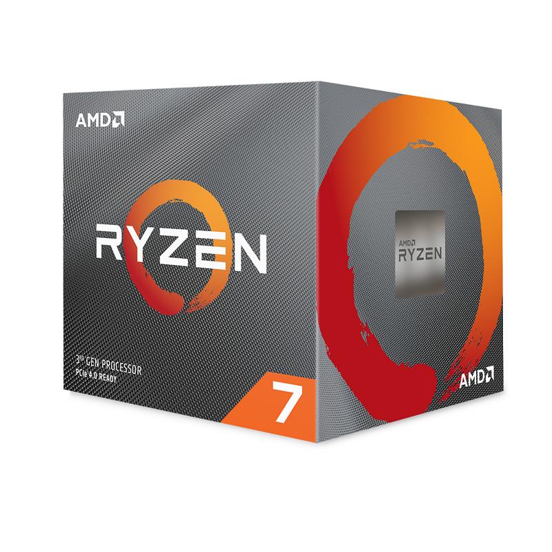 AMD Ryzen 7 3700X CPU Wraith prism cooler